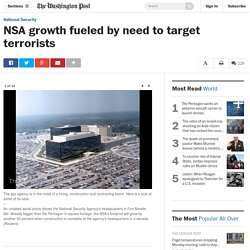 NSA growth fueled by need to target terrorists