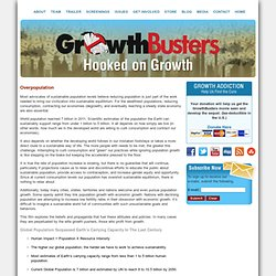 Hooked on Growth » Population Growth