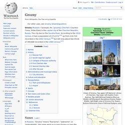 Grozny - Wikipedia