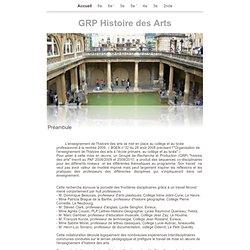 GRP Histoire des Arts