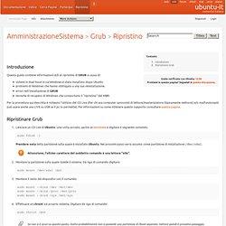 AmministrazioneSistema/Grub/Ripristino
