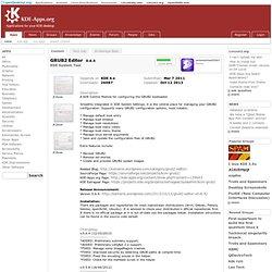 GRUB2 Bootloader Editor KDE-Apps.org
