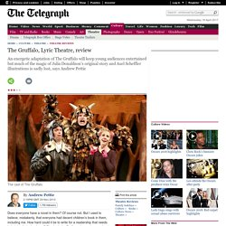 The Gruffalo, Lyric Theatre, review