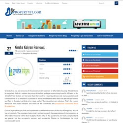 Read Gruhakalyan Reviews, Complaints & Opinions on Propertyfloor