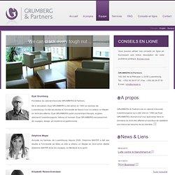 Avocats Grumberg &Partners Luxembourg