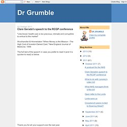 Dr Grumble