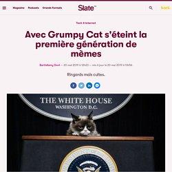Avec Grumpy Cat s'éteint la première génération de mèmes