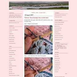 grumpygirl: Tutorial: The amazingly flat crochet seam