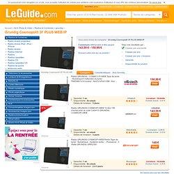 Grundig Cosmopolit 3F PLUS WEB IP - Radio & Combiné comparer les prix avec LeGuide.com