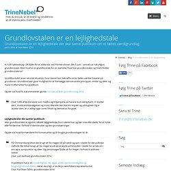 Grundlovstalen er en lejlighedstale - TrineNebel.dk