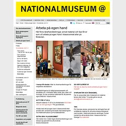Grundskolan, åk 0–3 - Nationalmuseum