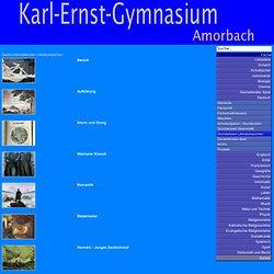 Grundwissen Literaturepochen - Karl-Ernst-Gymnasium Amorbach