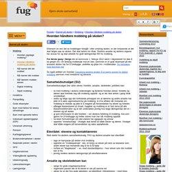 Hvordan håndtere mobbing på skolen? - FUG - Foreldreutvalget for grunnopplæringen