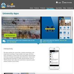 The Most Popular University app