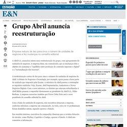 Grupo Abril anuncia reestruturação