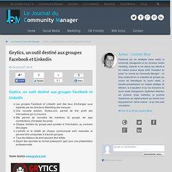 Grytics, un outil destiné aux groupes Facebook et Linkedin
