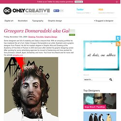 Grzegorz Domaradzki aka Gabz