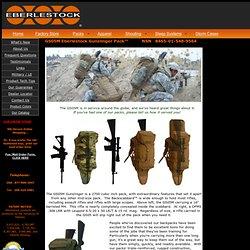 GS05M Eberlestock Gunslinger Pack NSN 8465-01-548-9564