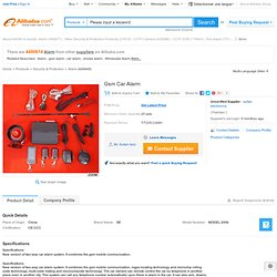 Gsm Car Alarm products, buy Gsm Car Alarm products from alibaba