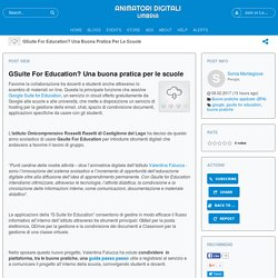 GSuite For Education? Una buona pratica per le scuole