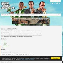 GTA 5 : les codes PS3