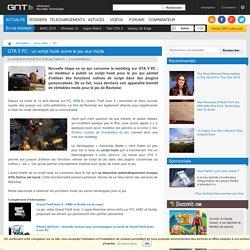 GTA 5 PC : un script hook ouvre le jeu aux mods
