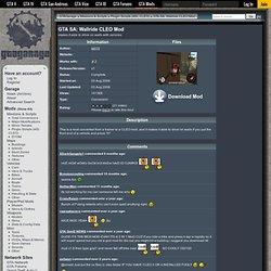 GTA SA: Wallride CLEO Mod