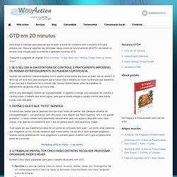 GTD em 20 minutos Wise Action
