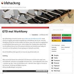 GTD met Workflowy