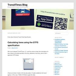 TransitTimes Blog
