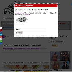 RECETA/ Patatas deluxe con salsa guacamole - FITFOODMARKET