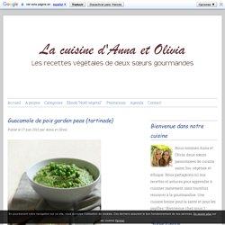 Guacamole de pois garden peas {tartinade}