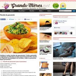 Guacamole : recette de guacamole maison