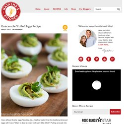 Guacamole Stuffed Eggs Recipe