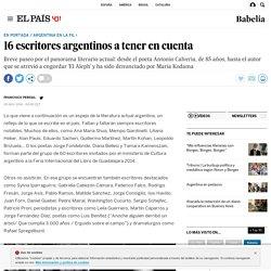 FIL DE GUADALAJARA 2014: 16 escritores argentinos a tener en cuenta