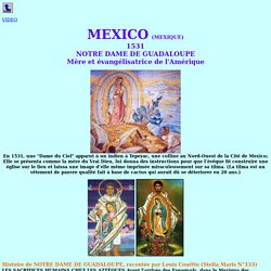 """Notre Dame de Guadalupe (Mexico)> <meta http-equiv=""""Content-Type"""" content=""""text/html; charset=iso-8859-1"""">"""