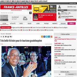 Très belle Victoire pour le tourisme guadeloupéen