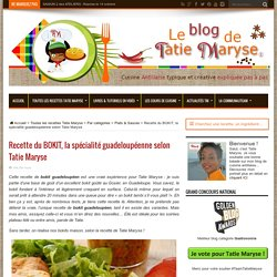 Recette du bokit, la spécialité guadeloupéenne selon Tatie Maryse