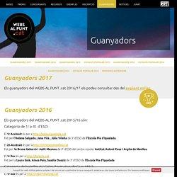 Guanyadors - Webs al punt .cat