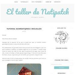 Tutorial guardatijeras 3 bolsillos - El taller de Natipatch