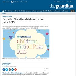 Enter the Guardian children's fiction prize 2015