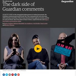 The dark side of Guardian comments