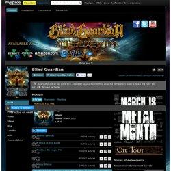 Blind Guardian sur MySpace Music - Ecoute gratuite de MP3, Photos et clips vidéos