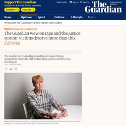 The Guardian view on rape and the justice system: victims deserve more than t...