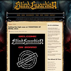 News « Blind Guardian Official Website
