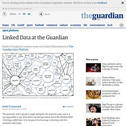 Linked Data at the Guardian