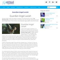 Guardian Angel Laviah - Spiritual Experience
