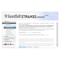 GuardSoft - Strokes Maker - Demo version