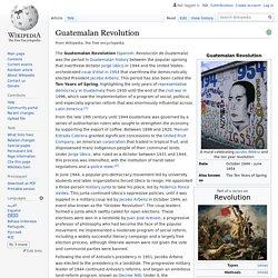 Guatemalan Revolution
