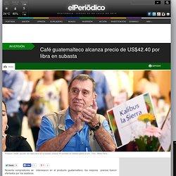 Café guatemalteco alcanza precio de US$42.40 por libra en subasta